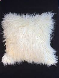 salmon pink faux fur pillow throw pillow cover neutral pillow