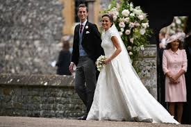 wedding dress indo sub all the details on pippa middleton s gorgeous wedding dress get