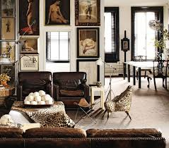 The New Neutrals  How To Incorporate Animal Prints In Your Home - Animal print decorations for living room