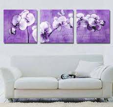 terrific modern paintings for living room using orchid oil