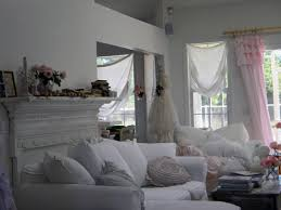 Shabby Chic White Curtains Simply Shabby Chic Curtain