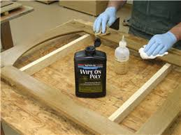 Minwax Water Based Stain With Minwax Water Based Wood Stain After by Minwax Water Based Wipe On Poly Review