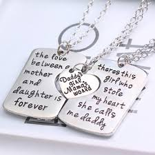 you necklace images 2016 i love you moon mom dad necklace pendant for son daughter jpg