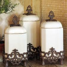 kitchen decorative canisters gracious goods kitchen canisters distinctive decor