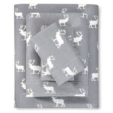 elk grove flannel sheet set eddie bauer target