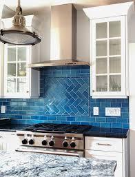 blue tile backsplash kitchen alluring kitchen tiles color 1 furniture colorful with terracotta