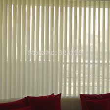 pvc plastic shade blinds louver window curtain vertical blinds curtains double open e series