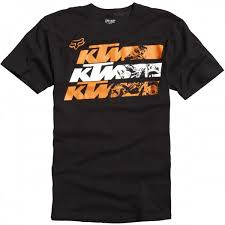 fox motocross t shirts fox racing ktm shadow ss tee t shirt