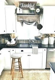 Shabby Chic Kitchen Ideas Shabby Chic Ideas Mid Sized Shabby Chic Style Enclosed Kitchen