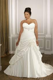 white plus size wedding dresses ruching sweetheart satin pleated