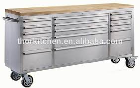 stainless steel workbench cabinets 72 inch stainless steel work bench cabinet with drawer heavy duty