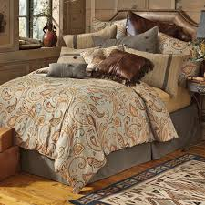Tan Comforter Rustic Bedding Sundance Spring Bedding Collection Black Forest Decor