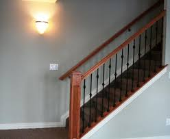 Banister Height Basement Stairs Railing Height Basement Stairs Railing Design