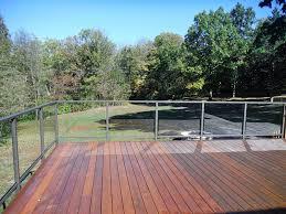glass panels for deck railing glass deck railing decoration