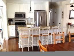 kitchen kitchen island with breakfast bar ideas backsplash two