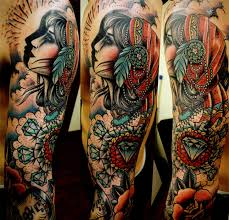 traditional sleeve tattoos photo 2 photo pictures and