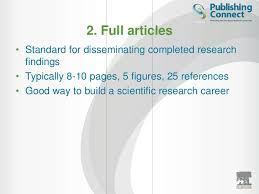 elsevier author workshop u2013 how to write a scientific paper u2026 and get i u2026
