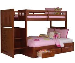 twin bunk beds with stairs bedroom pretty wood bunk beds with