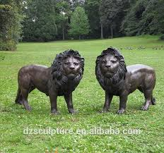 foo lions for sale hot sale mascot bronze lucky animal bronze foo dogs lion