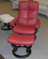 stressless oxford recliner chair ergonomic lounger and ottoman by