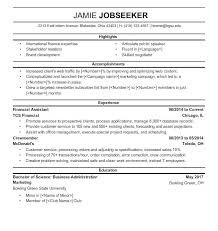 sample resumes