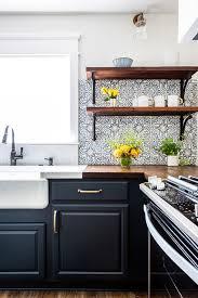blue endeavor kitchen cabinets hgtv modern farmhouse marine blue kitchen farmhouse