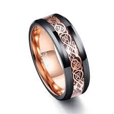 celtic mens wedding bands 8mm unisex women s or men s tungsten wedding band celtic