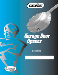 Chamberlain Garage Door Opener Instruction Manual by Garage Doors Astounding Genieage Door Opener Instructions