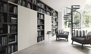 modern home library modular library design ideas