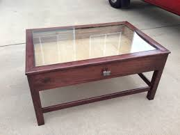 Coffee Table Storage by Fascinating Coffee Table With Glass Top Storage About Home Design