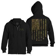 American Flag Hoodies For Men Black Camo Flag Zip Hoodie U2013 Grunt Style