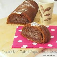 tahini orange chocolate marble cake recipe chocolate marble