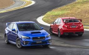 subaru blue image subaru impreza wrx sti 2 red blue auto