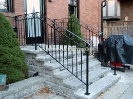 Wrought Iron Stair by Wrought Iron Stair Railings Exterior Newsonair Outdoor Stair