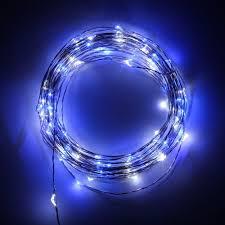 usb dc 5v blue white led wire string light for indoor decoration