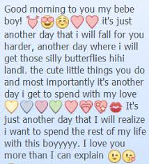 sweet messages boyfriend own sweet messages