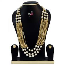 fashion pearl necklace set images Taar malas in pearls designer piece splendid pearl necklace jpg