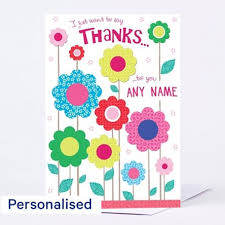 thank you cards for teachers personalised thanks cards from 99p cardfactory co uk