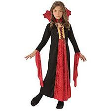 Vampire Costume Rubie U0027s Official Gothic Vampires Velvet Dress Small Amazon Co