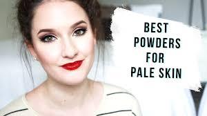 best powders for pale skin shadesofpale youtube