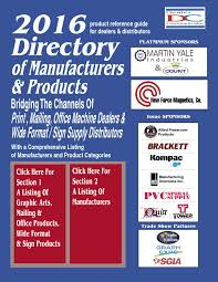 2016 directory of manufacturers u0026 products by fichera publications
