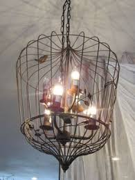 How To Make A Birdcage Chandelier Birdcage Chandelier Crafts Pinterest Birdcages Birdcage