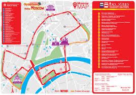 Moscow On Map Moskau Stadtrundfahrt Bus Einfach Bestellen Groundline