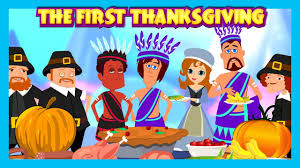 thanksgiving history com the first thanksgiving english story for kids the story of