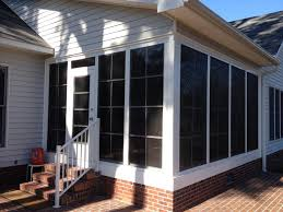 Vinyl Patio Enclosure Kits by Eze Breeze Panels Nc Sunroom Kits All Seasons Roofing