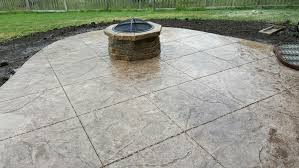 Photos Of Stamped Concrete Patios by Leo Concrete Stamped Concrete Gallery