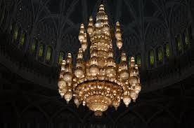 Sultan Qaboos Grand Mosque Chandelier Sultan Qaboos Grand Mosque Full Of Daisies