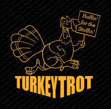 custom turkey trot iron on vinyl heat t shirt transfer