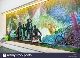 honolulu hawaii hawaiian oahu convention center centre inside honolulu hawaii hawaiian oahu convention center centre inside interior mural art
