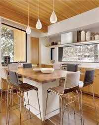 minimalist kitchen island dining table combo geokitchens